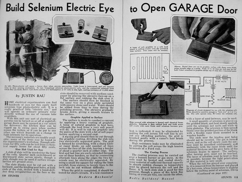 Tai akis apsauganti jūsų garažą.