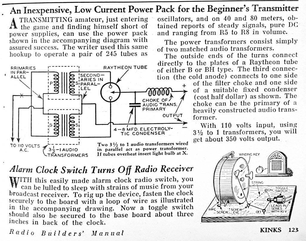 Pigus radijo siųstuvas ir automatinis išjungimas nuo žadintuvo. Jeigu tik tokį žadintuvą dar rastumėte.
